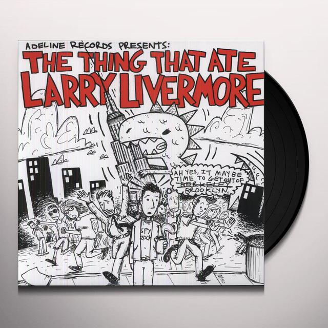 THING THAT ATE LARRY LIVERMORE / VARIOUS Vinyl Record