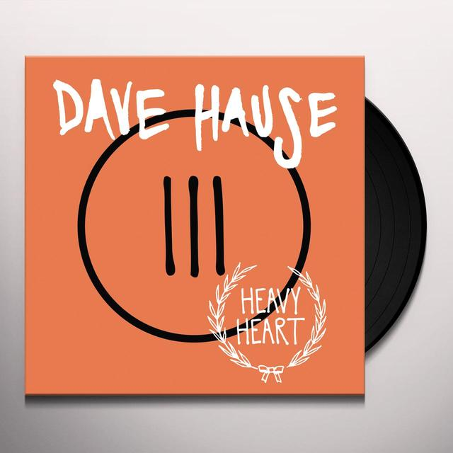 Dave Hause HEAVY HEART (MPDL) (Vinyl)