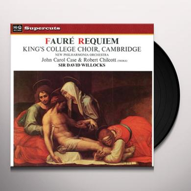 Willcocks / New Philharmonia Orchestra FAURE REQUIEM Vinyl Record - 180 Gram Pressing