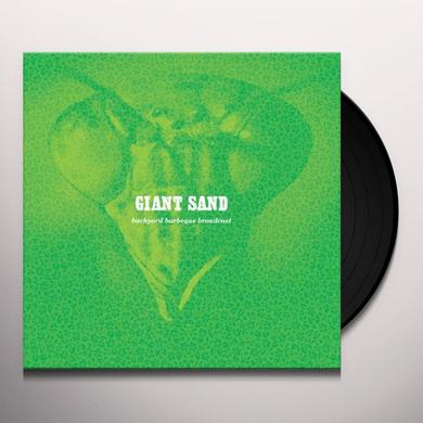 Giant Sand BACKYARD BARBEQUE BROADCAST Vinyl Record - MP3 Download Included