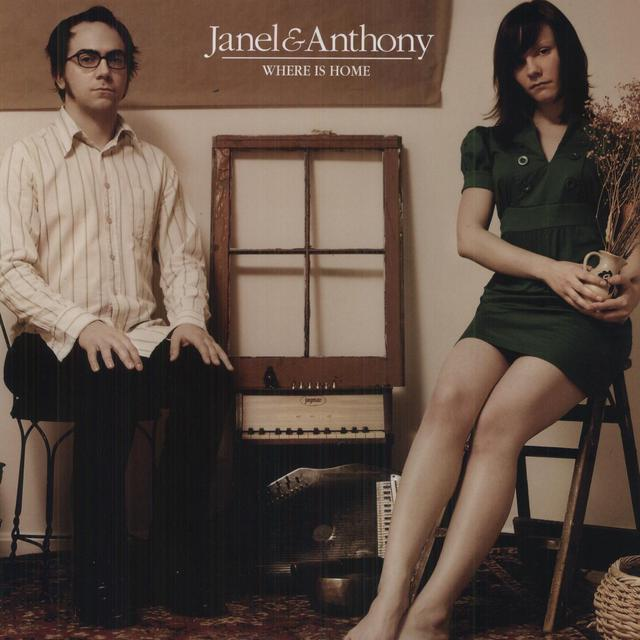 Janel & Anthony WHERE IS HOME Vinyl Record