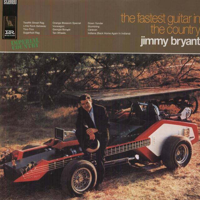Jimmy Bryant FASTEST GUITAR IN THE COUNTRY Vinyl Record