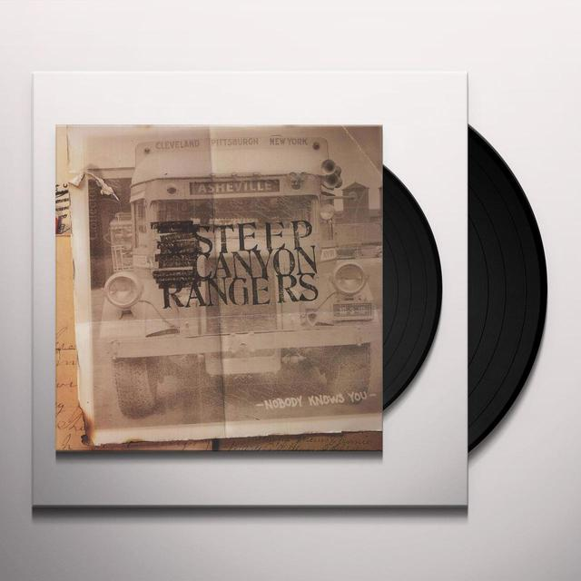 Steep Canyon Rangers NOBODY KNOWS YOU Vinyl Record