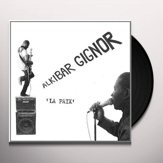 Alkibar Gignor LA PAIX Vinyl Record