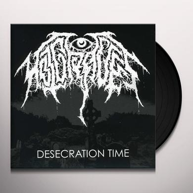 Hot Graves DESECRATION TIME Vinyl Record - Digital Download Included