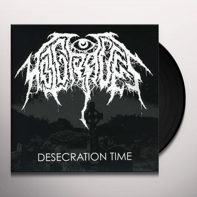 Hot Graves DESECRATION TIME Vinyl Record