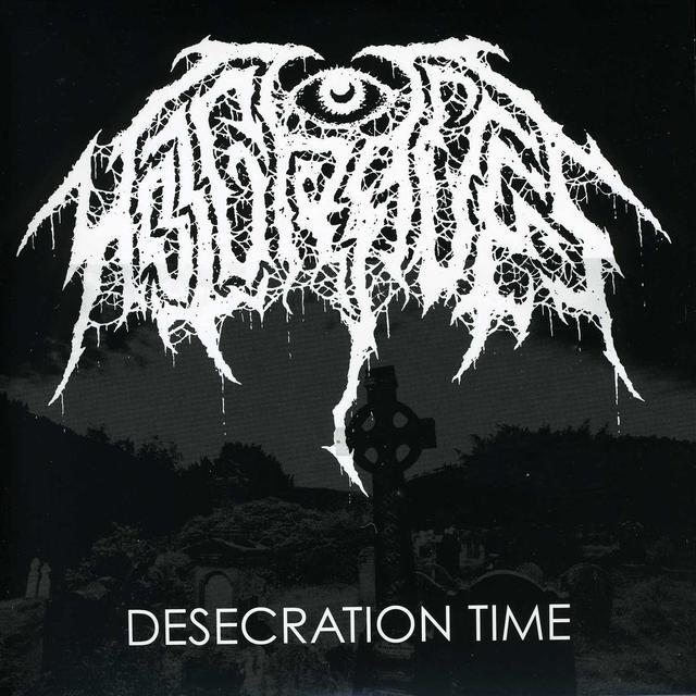 Hot Graves DESECRATION TIME Vinyl Record - Digital Download Included