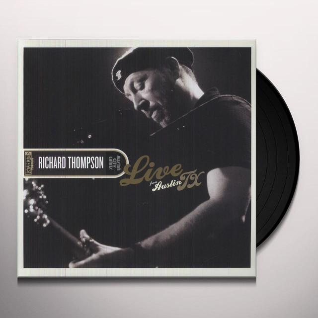 Richard Thompson LIVE FROM AUSTIN TX Vinyl Record