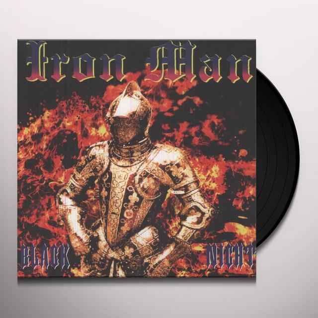 Iron Man BLACK NIGHT Vinyl Record