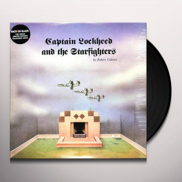 Robert Calvert CAPTAIN LOCKHEED & THE STARFIGHTER Vinyl Record