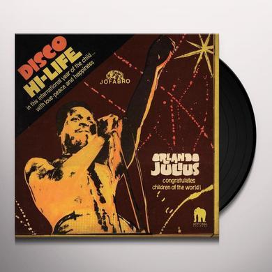 Orlando Julius DISCO HI-LIFE Vinyl Record