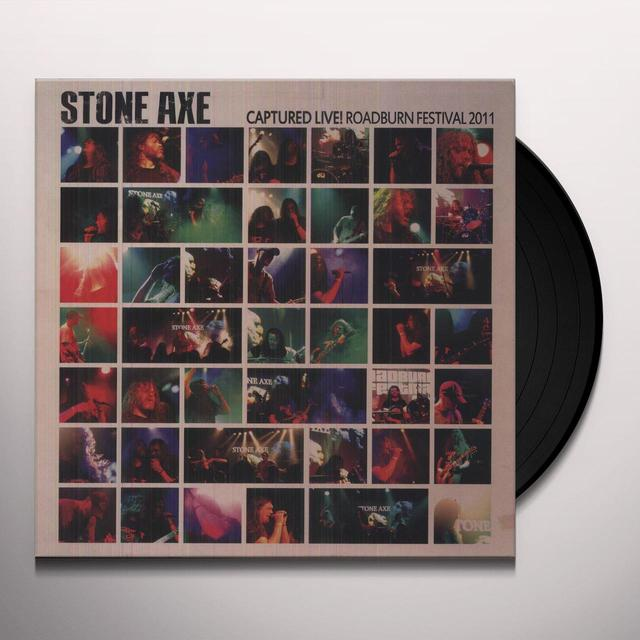 Stone Axe CAPTURED LIVE ROADBURN FESTIVAL 2011 Vinyl Record
