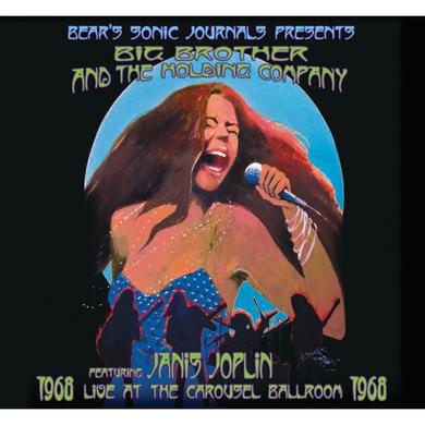 Big Brother & The Holding Company LIVE AT THE CAROUSEL BALLROOM 1968 Vinyl Record