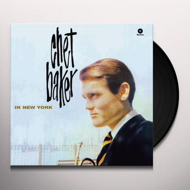 Chet Baker IN NEW YORK (BONUS TRACK) Vinyl Record - 180 Gram Pressing