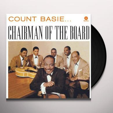 Count Basie CHAIRMAN OF THE BOARD Vinyl Record - 180 Gram Pressing