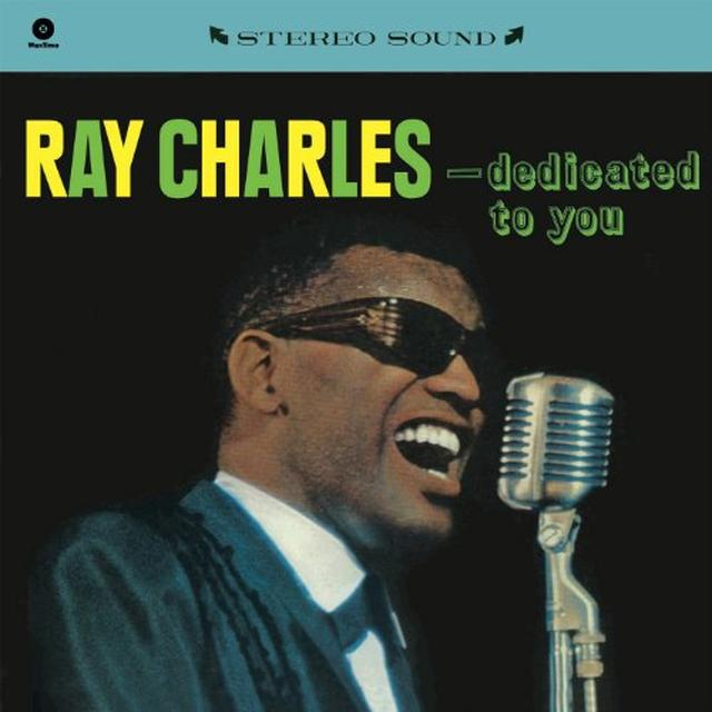 Ray Charles DEDICATED TO YOU Vinyl Record - 180 Gram Pressing