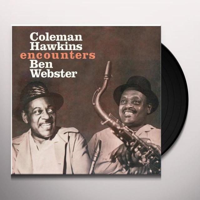 Coleman Hawkins ENCOUNTERS BEN WEBSTER Vinyl Record - 180 Gram Pressing