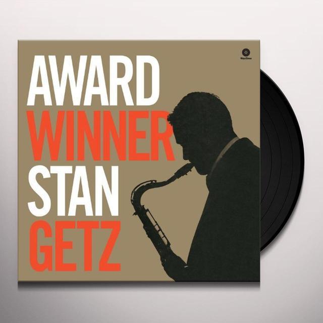 Stan Getz AWARD WINNER Vinyl Record - 180 Gram Pressing