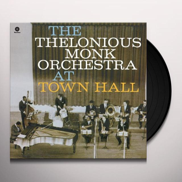 Thelonious Orchestra Monk AT TOWN HALL Vinyl Record