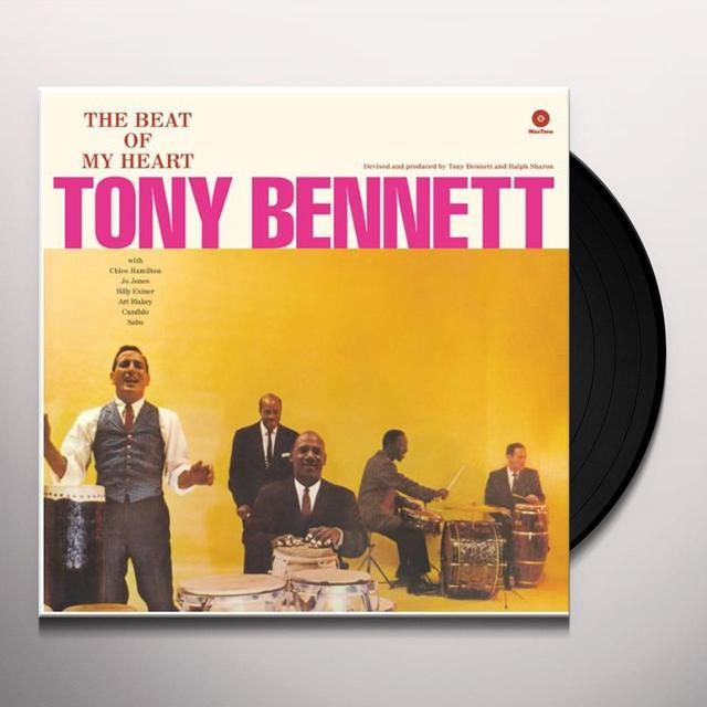 Tony Bennett BEAT OF MY HEART Vinyl Record - 180 Gram Pressing
