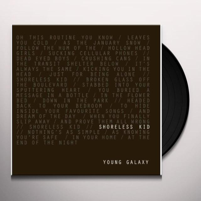 Young Galaxy SHORELESS KID Vinyl Record