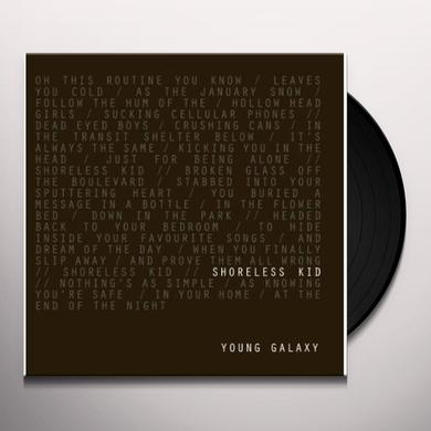 Young Galaxy SHORELESS KID Vinyl Record