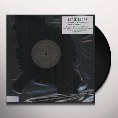 Chuck Ragan FIELD HOLLER / LIVE BY SWORD (DIE CUT SAWBLADE) Vinyl Record