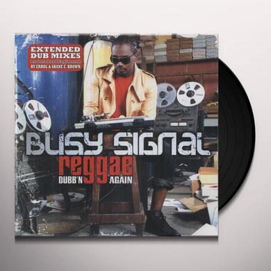 Busy Signals REGGAE MUSIC DUBB'N AGAIN Vinyl Record
