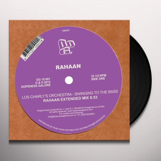 Rahaan SWINGING TO THE BASS Vinyl Record