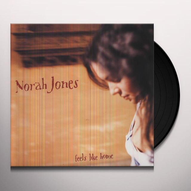 Norah Jones FEELS LIKE HOME Vinyl Record - 200 Gram Edition, Remastered