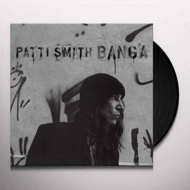 Patti Smith BANGA Vinyl Record - Limited Edition