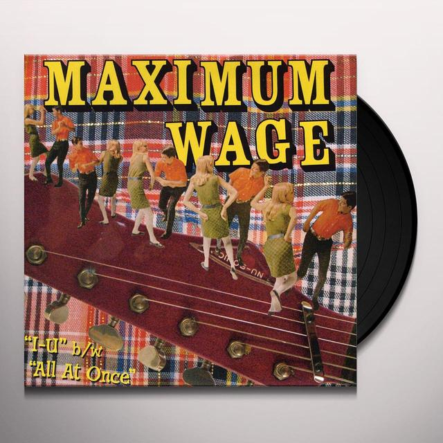 MAXIMUM WAGE Vinyl Record
