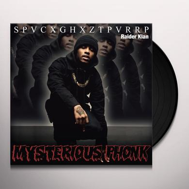 MYSTERIOUS PHONK: CHRONICLES OF SPACEGHOSTPURRP Vinyl Record
