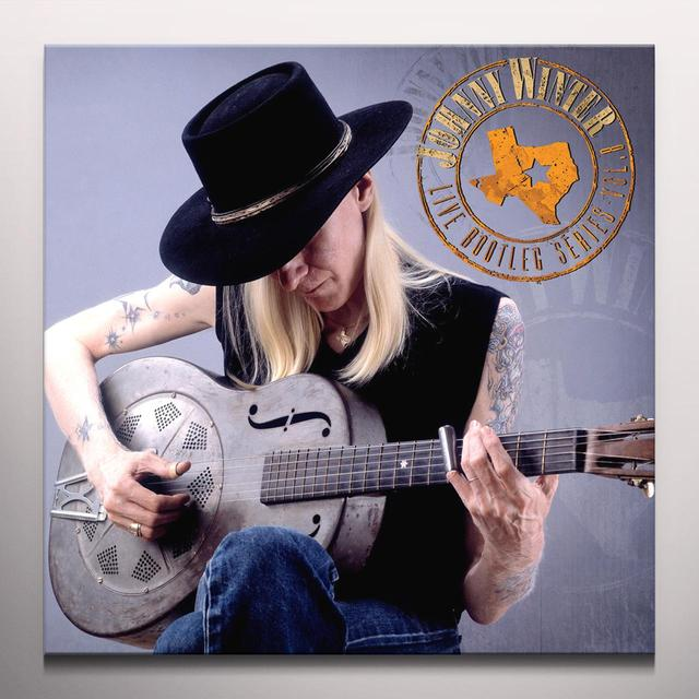 Johnny Winter LIVE BOOTLEG SERIES 8 Vinyl Record - Colored Vinyl, Limited Edition, 180 Gram Pressing