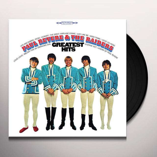 Paul Revere & Raiders GREATEST HITS Vinyl Record