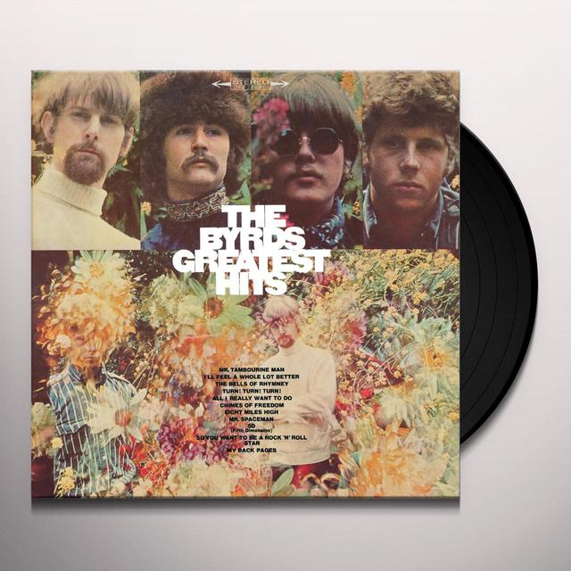 BYRDS GREATEST HITS Vinyl Record - Limited Edition, 180 Gram Pressing