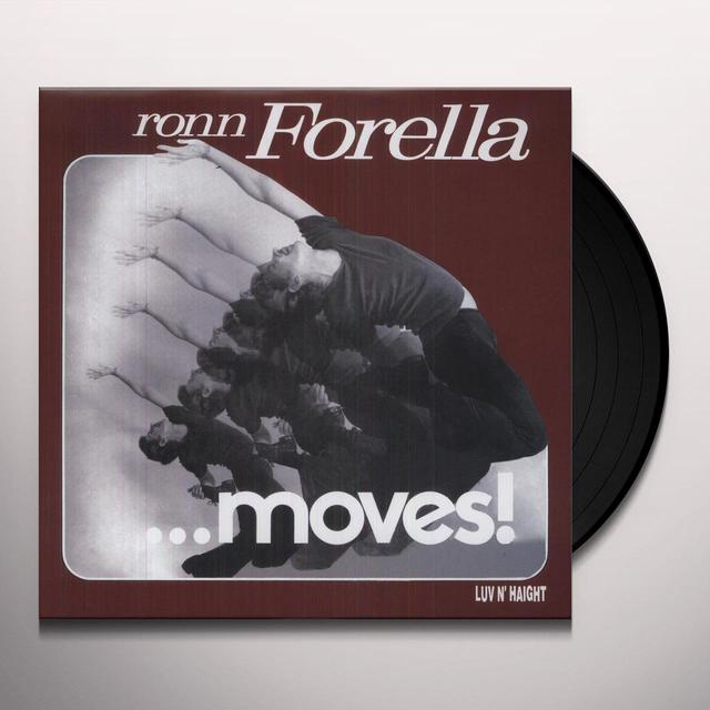 Thom Janusz RON FORELLA MOVES Vinyl Record - MP3 Download Included