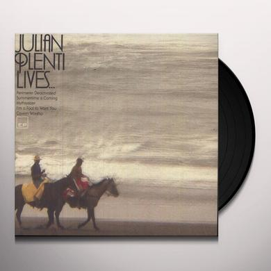 Paul Banks JULIAN PLENTI LIVES   (EP) Vinyl Record - MP3 Download Included, Limited Edition