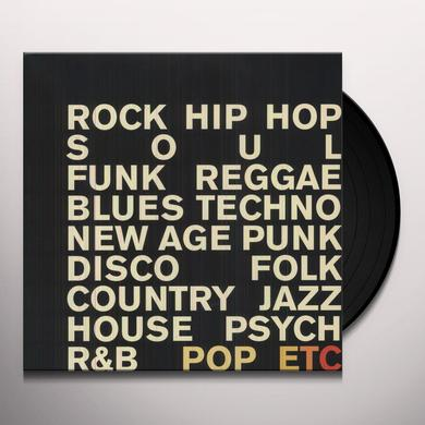 POP ETC Vinyl Record - MP3 Download Included