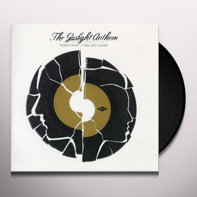 The Gaslight Anthem 45 / YOU GOT LUCKY Vinyl Record