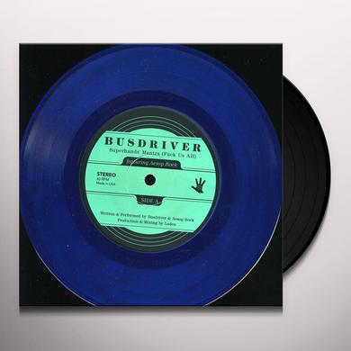 Busdriver SUPERHANDS MANTRA Vinyl Record