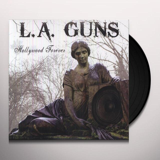 LA Guns HOLLYWOOD FOREVER Vinyl Record