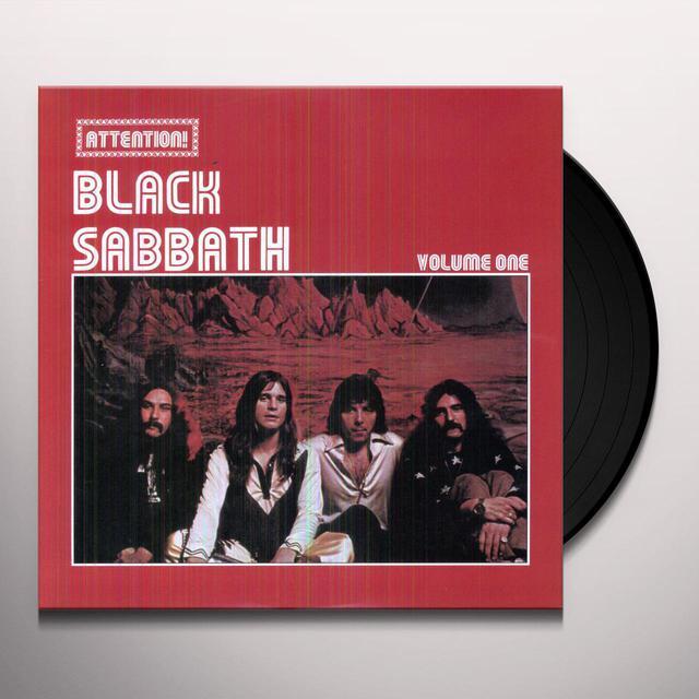 ATTENTION BLACK SABBATH 1 Vinyl Record