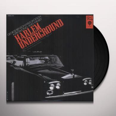 Harlem Underground GEORGE BENSON / WILLIS JACKSON / ANN WINLEY Vinyl Record
