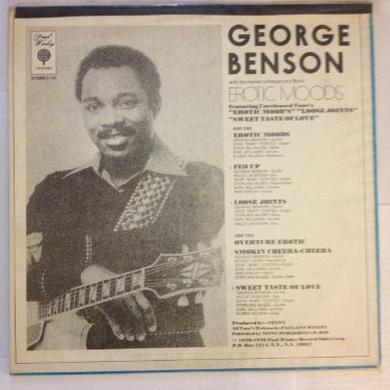 George Benson EROTIC MOODS Vinyl Record