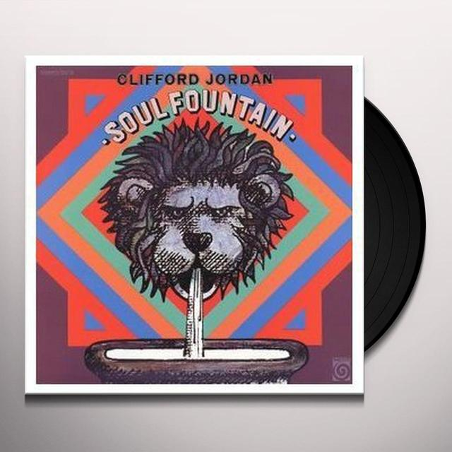 Clifford Jordan SOUL FOUNTAIN Vinyl Record