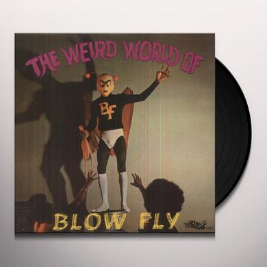 Blowfly WEIRD WORLD OF Vinyl Record