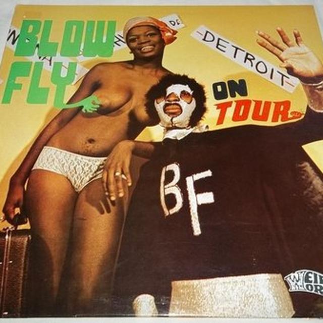 Blowfly ON TOUR Vinyl Record