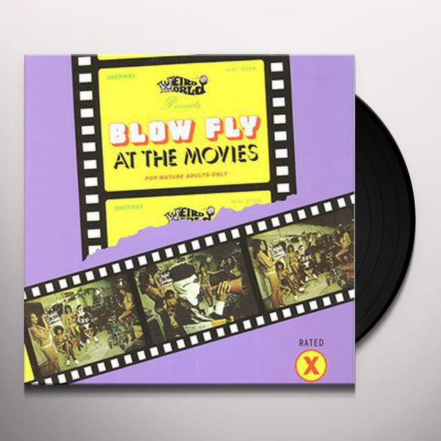 Blowfly AT THE MOVIES Vinyl Record