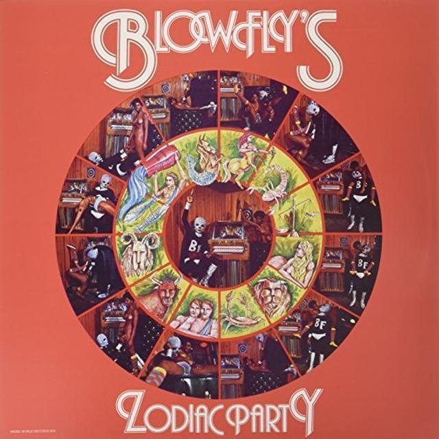 BLOW FLY'S ZODIAC PARTY Vinyl Record